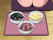 Salsa frijoles, salsa soja y salsa sesamo