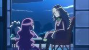 Tsubomi pregunta a su abuela acerca de los Apostoles del Desierto cuando era Cure Flower