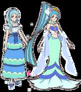 Yura y Antigua Cure Mermaid