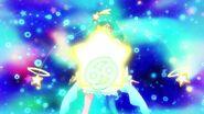 Cure Milky dibuja la estrella de Cáncer