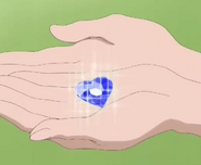 Piedra Prisma azul oscuro miple