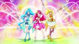 1080p Healin' Good Pretty Cure Group Transformation 1