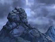 Roca forma leon