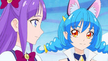 STPC24 Madoka and Yuni glance over at each other