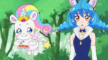 STPC35 Yuni assumes Hikaru got the idea because of Saboro