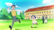 Aoi jugando con Mizushima