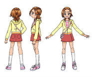 Cure bloom casual clothes