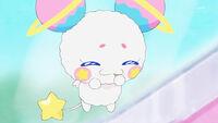 STPC23 Fuwa eats Yuni's cookie