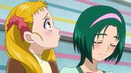 Urara y Komachi en la entrevista