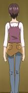 Yumehara Megumi rear (YPC507)