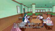 01. Haruka peinando el cabello de Pafu mientras Minami le cuenta sobre la Jornada Deportiva de la Academia Noble