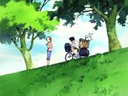 Daiki se choca con hikari