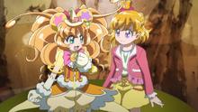 MTPC movie - Cure Mofurun will protect Mirai