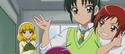 Miyuki and Akane holding onto Nao
