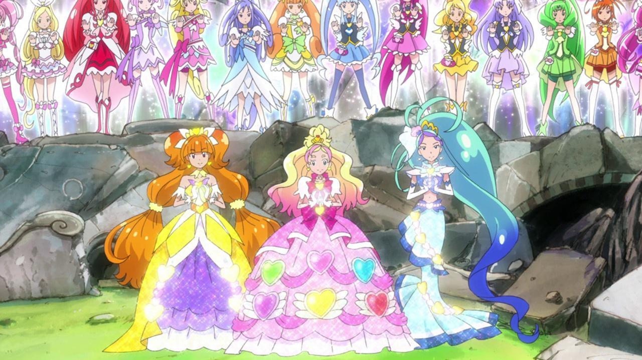¡Tornado Arcoíris Pretty Cure!