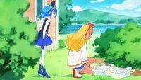 STPC23 Yuni asks Elena if she found the real Fuwa