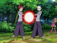 Michiru y kaoru ataque