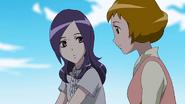 Ayumi habla setsuna