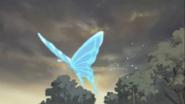 Mariposa azul karen