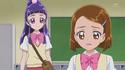 Riko listens to Mayumi