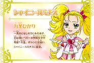 Cartel de Shiny Luminosa en Pretty Cure All Stars New Stage 3