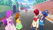 Las KiraKira conocen a Sakura
