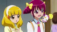 Candy diciendole a Miyuki que se quiere arreglar para la ocasion