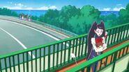 25. Miss Shamour en un puente
