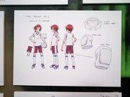 Akane voleibol boceto