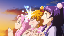 MTPC movie - Mirai hit by shooting star