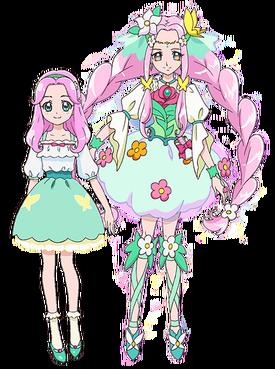 Cure Felice y Kotoha