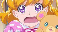 Expresion de Mirai al saber que es Kochousensei