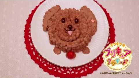 Making of Poodle ChocoCake