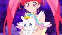 STPC47 Star looks at Fuwa realizing she'll vanish