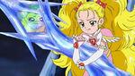 Luminous trying to rescue Hinata