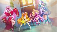 Mermaid, Twinkle y Scarlet salvan a Flora y Refi