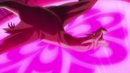 Salamander bajo el sello de flor