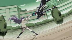 Tsukikage Yuri vs Dark Cure