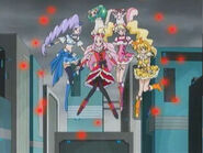 Pretty Cure llegando a Laberinto