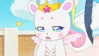 STPC33 Fuwa reluctantly agrees to wait until after school to search for Twinkle Imagination
