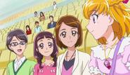 Mirai reune mayumi, kana, yuuto