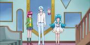 Hime se rinde diciendo que pesar de haber conseguido una amiga no puede derrotar a un saiark