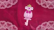 Llaves de Vestir de Flora al final del episodio 35