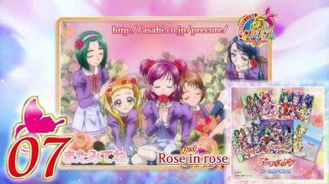 Роза в розовом