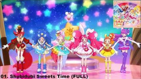 KiraKira☆Precure A La Mode ED2 Track 01 - Shubidubi☆Sweets Time FULL-0