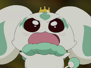 Porun interpone entre rey haaku precure