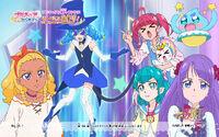 Pretty Cure Online STPC wall star 36 1 S