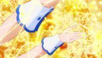 HuPC-Heart Kiratto-Étoile-Etoile's cuffs appear