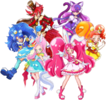 Hugtto Movie KiraKira Ala Mode Team