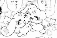 Mepple y Mipple manga